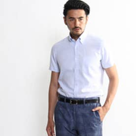 タケオ キクチ TAKEO KIKUCHI ピンヘッドボタンダウンシャツ (ライトブルー)