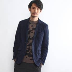 タケオ キクチ TAKEO KIKUCHI [TALL&LARGEサイズ]ウルトラスエードジャケット (ブルー系)