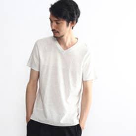 タケオ キクチ TAKEO KIKUCHI パネルジャガードインナープルオーバー (ホワイト)