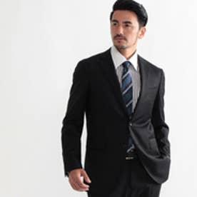 タケオ キクチ TAKEO KIKUCHI サージシングルジャケット Fabric by Loro Piana (ブラック)