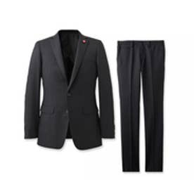 ザ ショップ ティーケー THE SHOP TK ブライトペンシルストライプスーツ (ブラック)