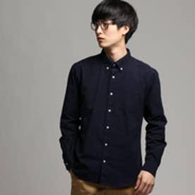 ティーケー TK オックスボタンダウンシャツ (ネイビー)
