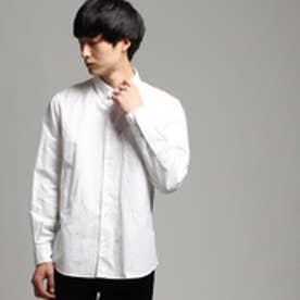 ティーケー TK オックスボタンダウンシャツ (ホワイト)
