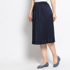 アンタイトル UNTITLED 【VERY10月号掲載】細プリーツスカート (ブルー系)
