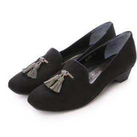 銀座ワシントン WASHINGTON【大きめサイズ】 Foot Happy FootHappy タッセル付きオペラシューズ (ブラック)