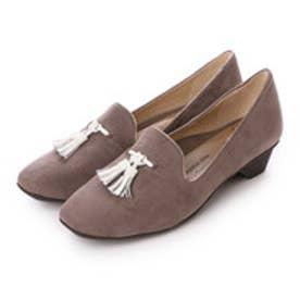 銀座ワシントン WASHINGTON【大きめサイズ】 Foot Happy FootHappy タッセル付きオペラシューズ (グレイ)