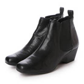 銀座ワシントン WASHINGTON【大きめサイズ】 Foot Happy FootHappy サイドゴアブーツ (ブラック)