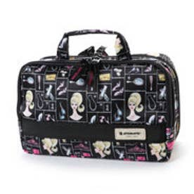 アルティザンアンドアーティスト ARTISAN&ARTIST 大きめサイズのスロープシェイプ・ポーチ<Like Barbie(ライク・バービー)> 8WP-BB120 (BLK)