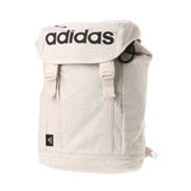 アディダス adidas リュックサック スウェット 47424 かぶせ (ホワイト)