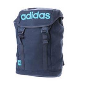 アディダス adidas リュックサック スウェット 47424 かぶせ (ブルー)