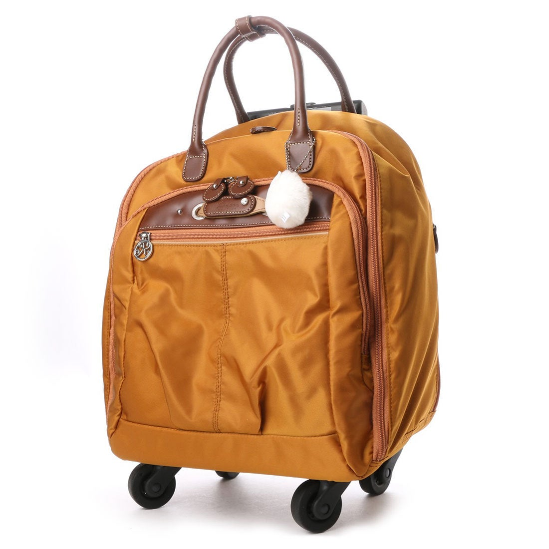 カナナ プロジェクト Kanana project 4輪 トロリーバッグ 17L 2.2kg サイレントキャスター搭載 (オレンジ) レディース