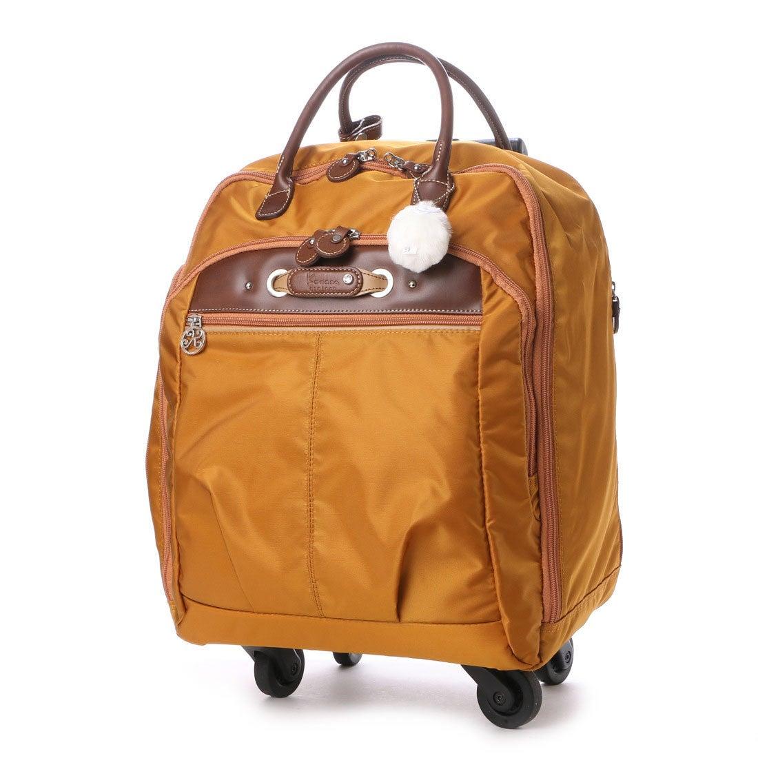 カナナ プロジェクト Kanana project 4輪 トロリーバッグ 20L 2.3kg サイレントキャスター搭載 (オレンジ) レディース