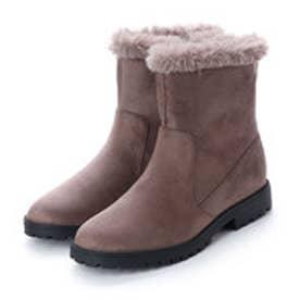 コカ COCA coca / コカ フワモコ 暖かボア ブーツ (グレー)