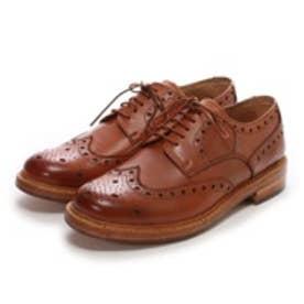 ロンドンシューメイク London Shoe Make グッドイヤーウエルトオールレザーハンドメイド外羽根ウィングチップ(タン)