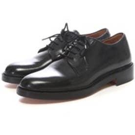 ロンドンシューメイク London Shoe Make グッドイヤーウエルトオールレザーハンドメイドプレーントゥダービー(ブラック)