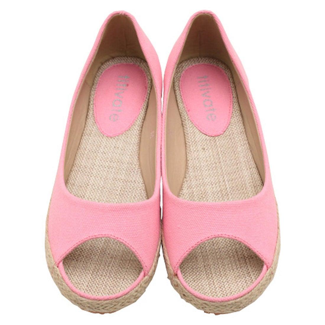 ティティベイト titivate ぺたんこパンプス (ピンク) -アウトレット通販 ロコレット (LOCOLET)