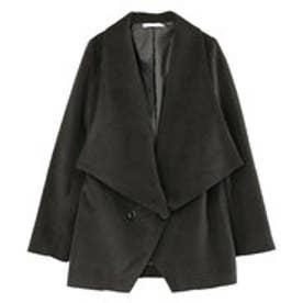 ティティベイト titivate ジャケットコート<AW>《097》  (ブラック)