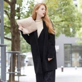 ティティベイト titivate オーバーシルエットジャケットコート (ブラック)