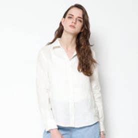 ティティベイト titivate リネンシャツ (ホワイト)