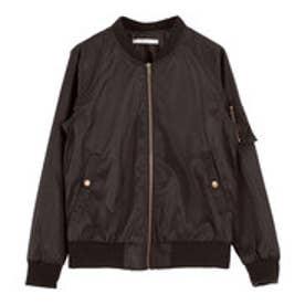 ティティベイト titivate レギュラーMA-1ジャケット (ブラック)