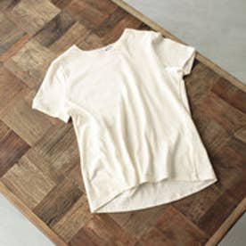 ティティベイト titivate オーガニックコットンクルーネックTシャツ (ホワイト)
