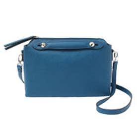 ティティベイト titivate 2パターンショルダーバッグ/ハンドバッグ (ブルー)