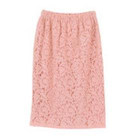 ティティベイト titivate コードレースタイトスカート (ピンク)