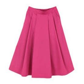 ティティベイト titivate フロントタックフレアスカート (ピンク)
