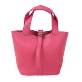 ティティベイト titivate スモールシンプルハンドバッグ (ピンク)
