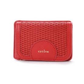 コットーネ cotone 財布 (レッド)