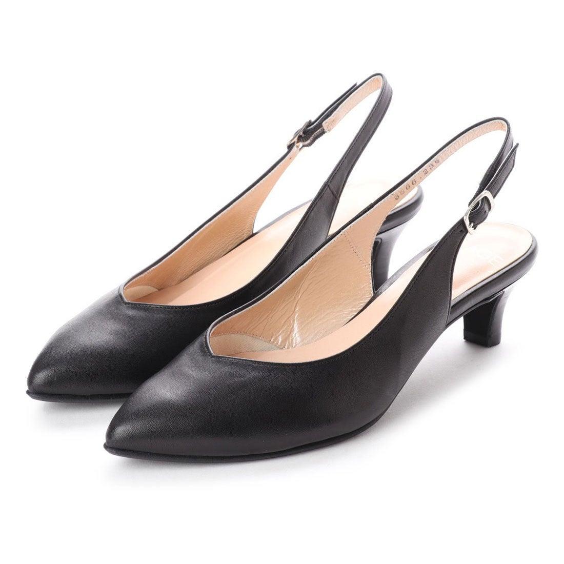 ロコンド 靴とファッションの通販サイトフラッグFLAGサラサラバックストラップパンプス(BL)