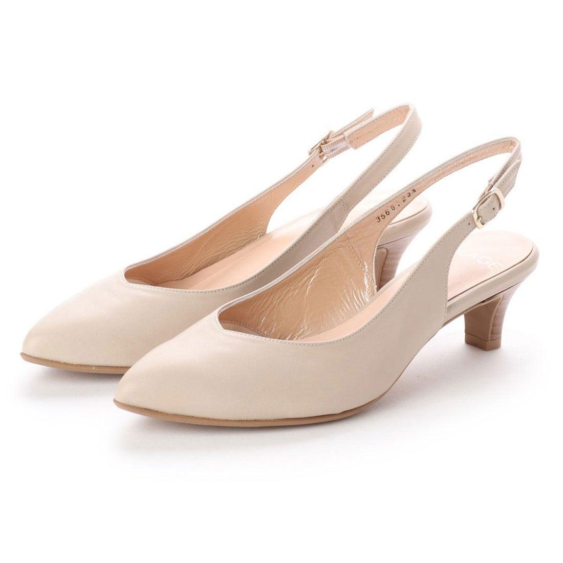 ロコンド 靴とファッションの通販サイトフラッグFLAGサラサラバックストラップパンプス(IV)