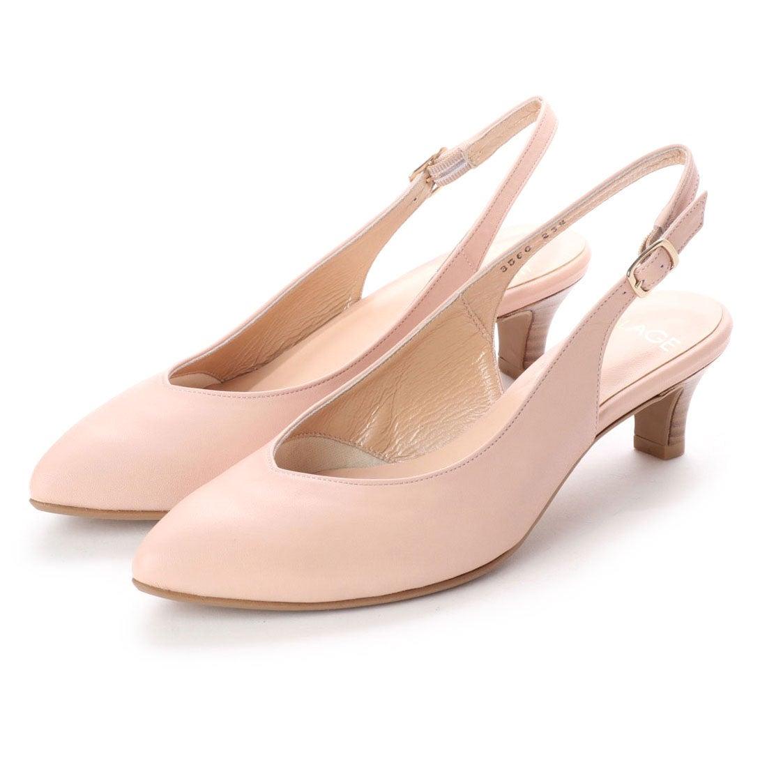 ロコンド 靴とファッションの通販サイトフラッグFLAGサラサラバックストラップパンプス(PK)