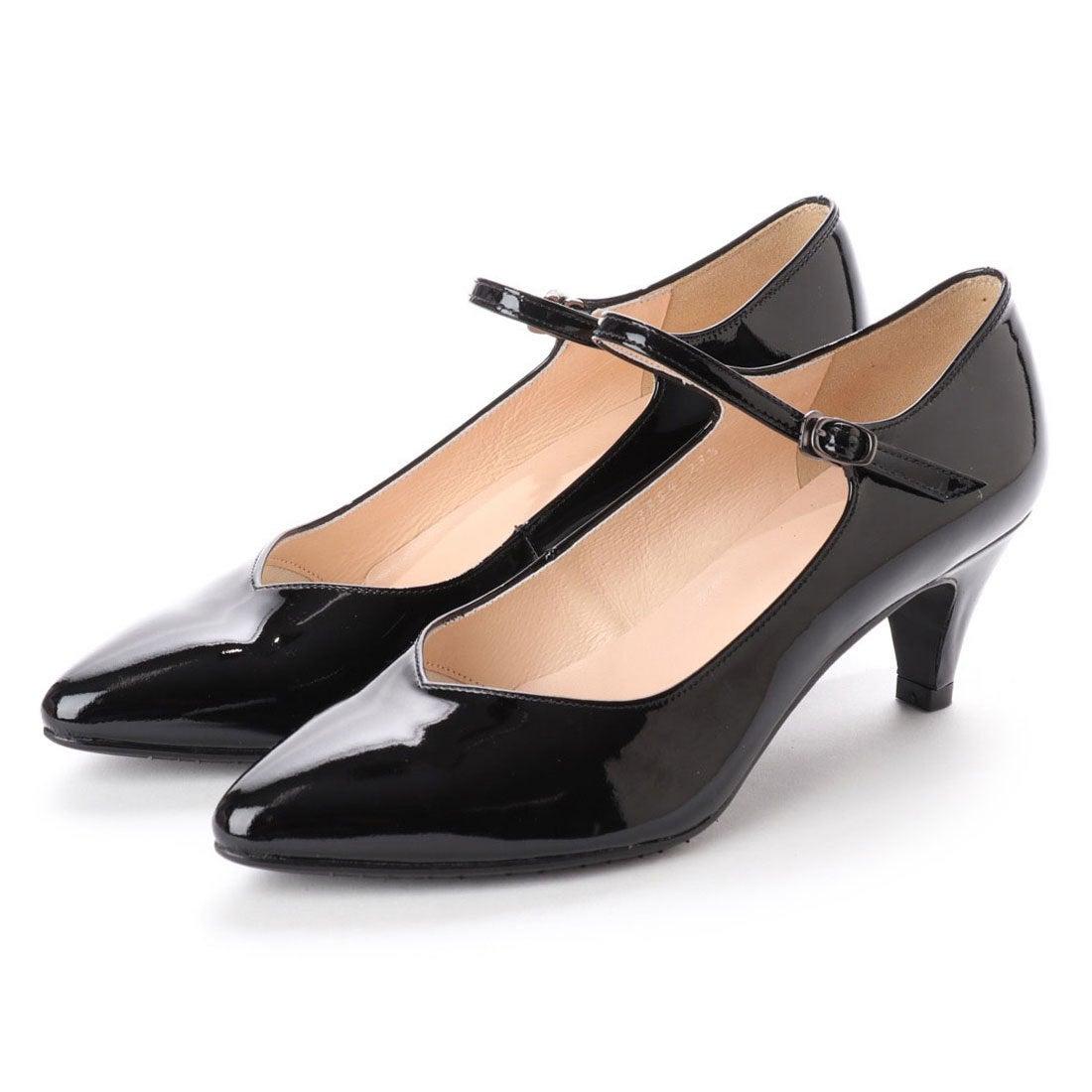 ロコンド 靴とファッションの通販サイトフラッグFLAGサラサラ撥水ストラップパンプス(BL/E)