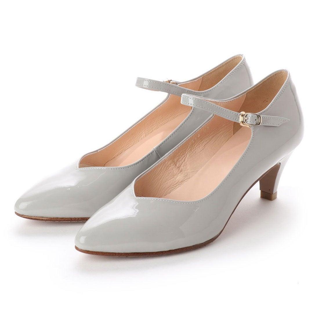 ロコンド 靴とファッションの通販サイトフラッグFLAGサラサラ撥水ストラップパンプス(LGY/E)