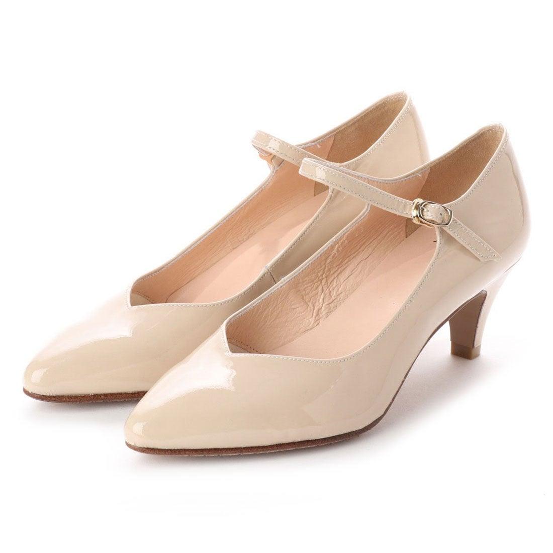ロコンド 靴とファッションの通販サイトフラッグFLAGサラサラ撥水ストラップパンプス(PK/E)