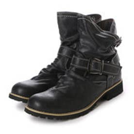 アルビセレステ Albiceleste ブーツ カジュアルブーツ MMB8858 ブラウン 0090 (ブラック)