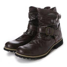 アルビセレステ Albiceleste ブーツ カジュアルブーツ MMB8858 ブラウン 0089 (ダークブラウン)