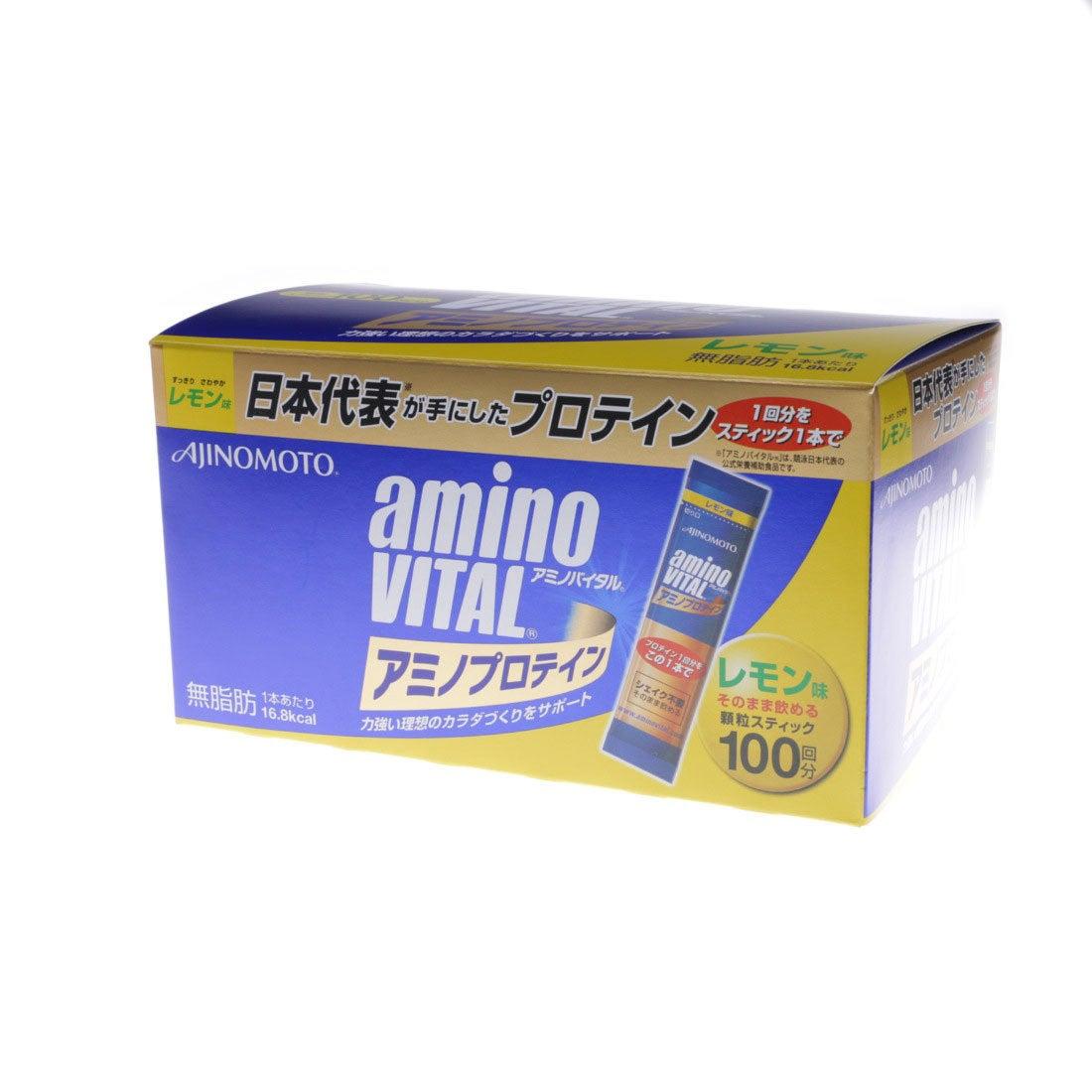 アミノバイタル AminoVital プロテイン 「アミノバイタル」アミノプロテインレモン味100本入箱 3420150500