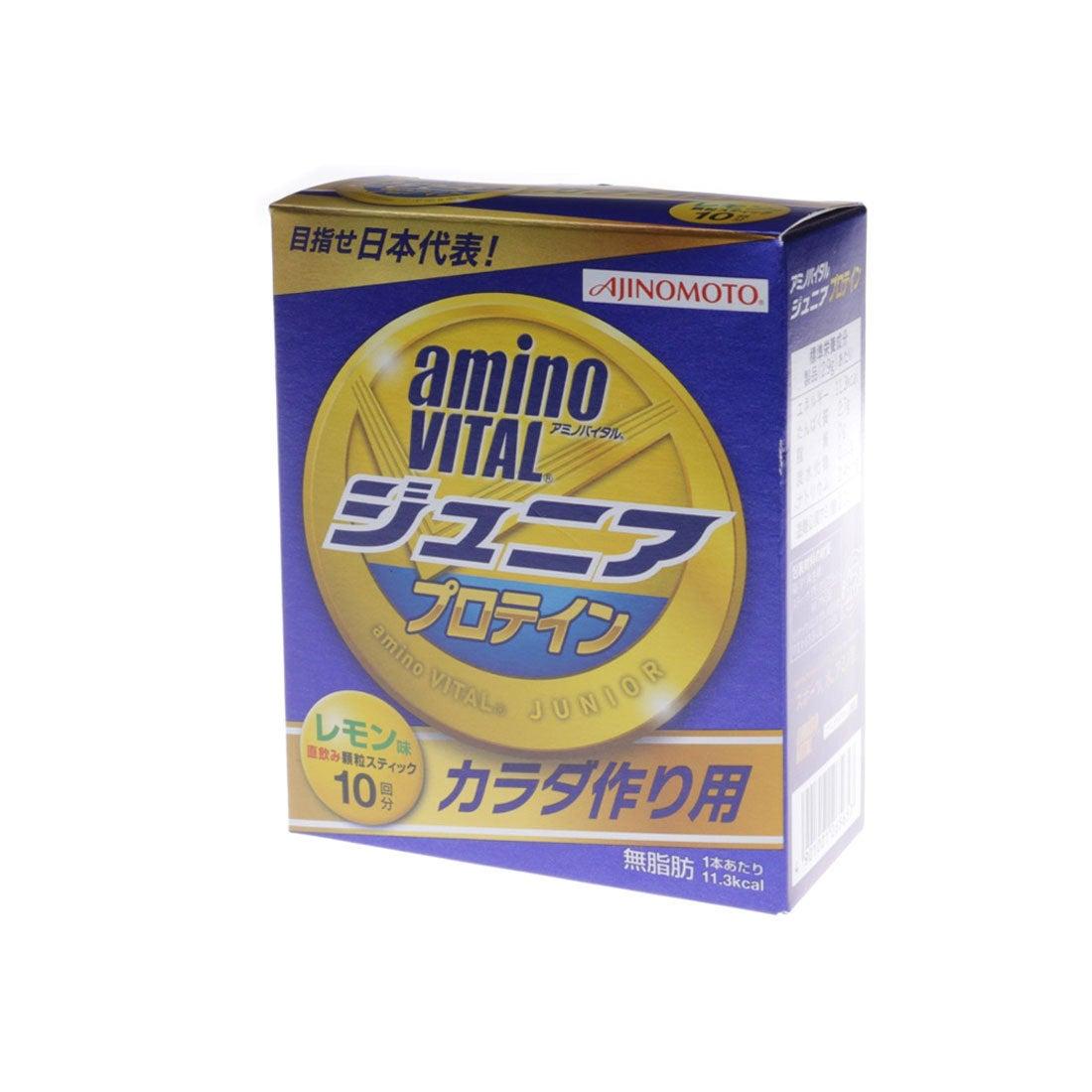 【SALE 5%OFF】アミノバイタル AminoVital プロテイン 「アミノバイタル」ジュニアプロテイン10本入箱 3423150000