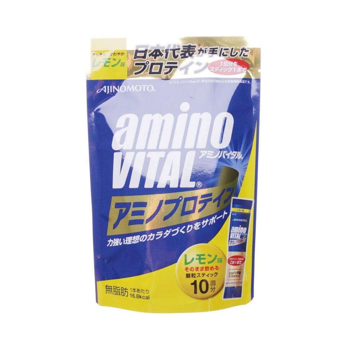 【SALE 28%OFF】アミノバイタル AminoVital プロテイン 「アミノバイタル」アミノプロテインレモン味10本入パウチ AM2650