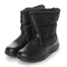 アキレス achilles ウインターシューズ 吸湿発熱 防寒ブーツ MIW0600 4130 (ブラック)