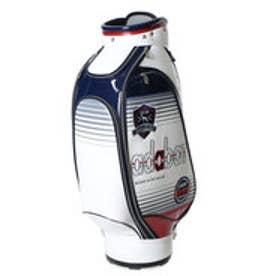【大型商品200】アダバット adabat メンズ ゴルフ キャディバッグ ABC296TR (ホワイト)