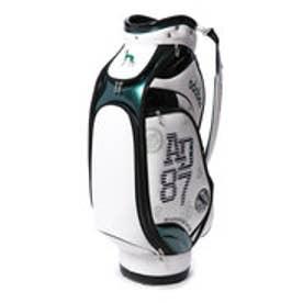 【大型商品180】アダバット adabat メンズ ゴルフ キャディバッグ ABC301GR (ホワイト)