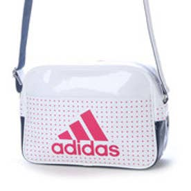 アディダス adidas エナメルバッグ エナメル ショルダーS AP3369  526 (ホワイト/カレッジネイビー)