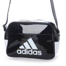 アディダス adidas エナメルバッグ エナメル ショルダーS AP3368  525 (ブラック/ホワイト)