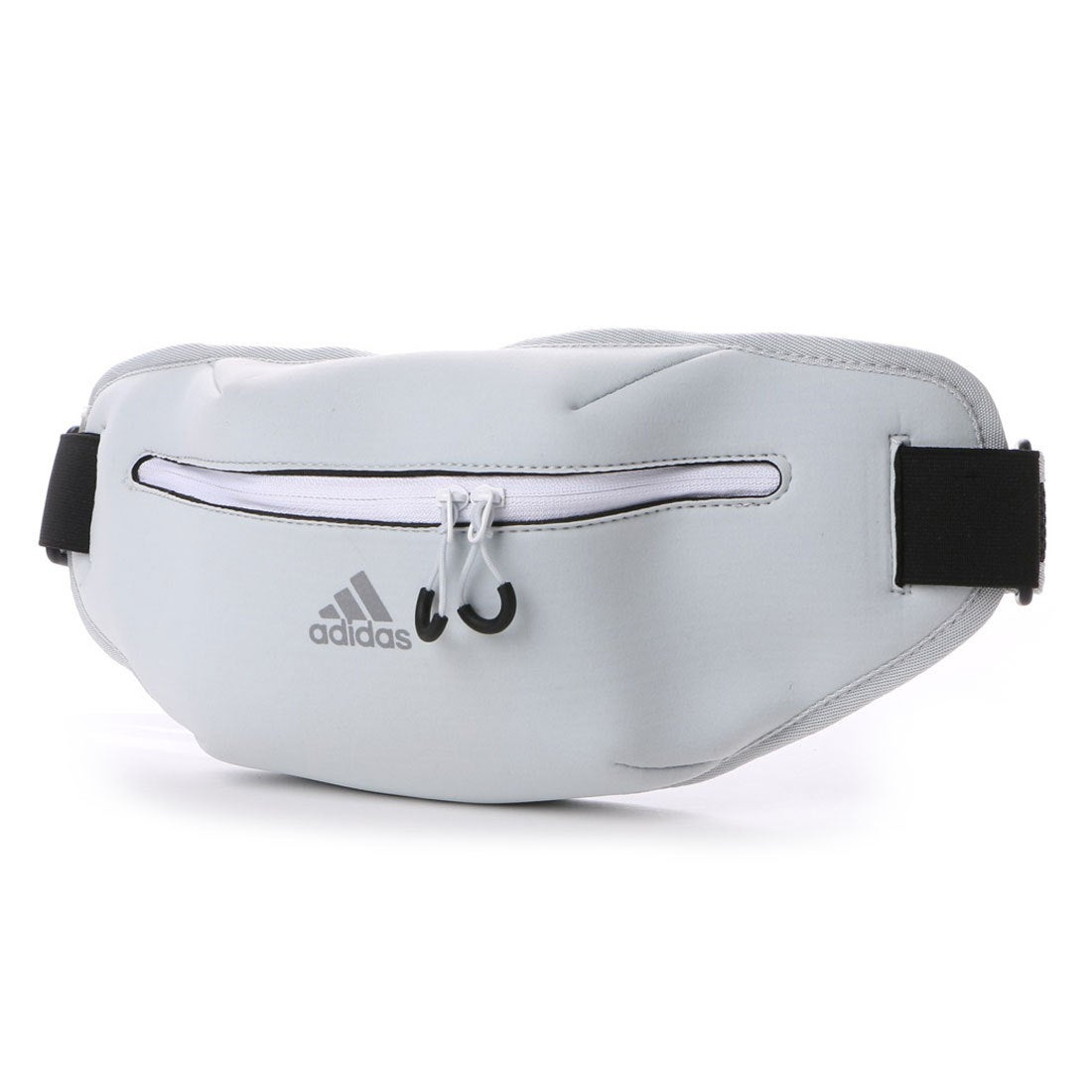 【SALE 7%OFF】アディダス adidas ユニセックス 陸上/ランニング ウエストバッグ ランニング ウエストポーチ AZ4202 (グレー)