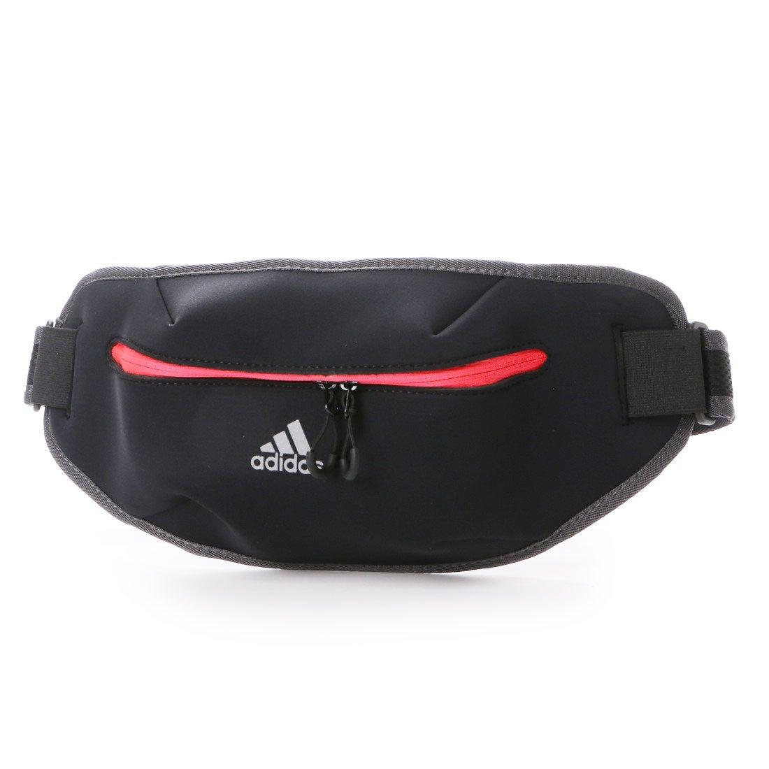 【SALE 7%OFF】アディダス adidas ユニセックス 陸上/ランニング ウエストバッグ ランニング ウエストポーチ AZ4201 (ブラック)
