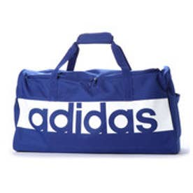 アディダス adidas ダッフルバッグ リニアロゴチームバッグM DM7649 495 (ブルー)