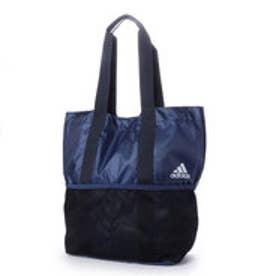 アディダス adidas ライフスタイル バッグ パッカブルトートバッグ CX4122 (ブルー)